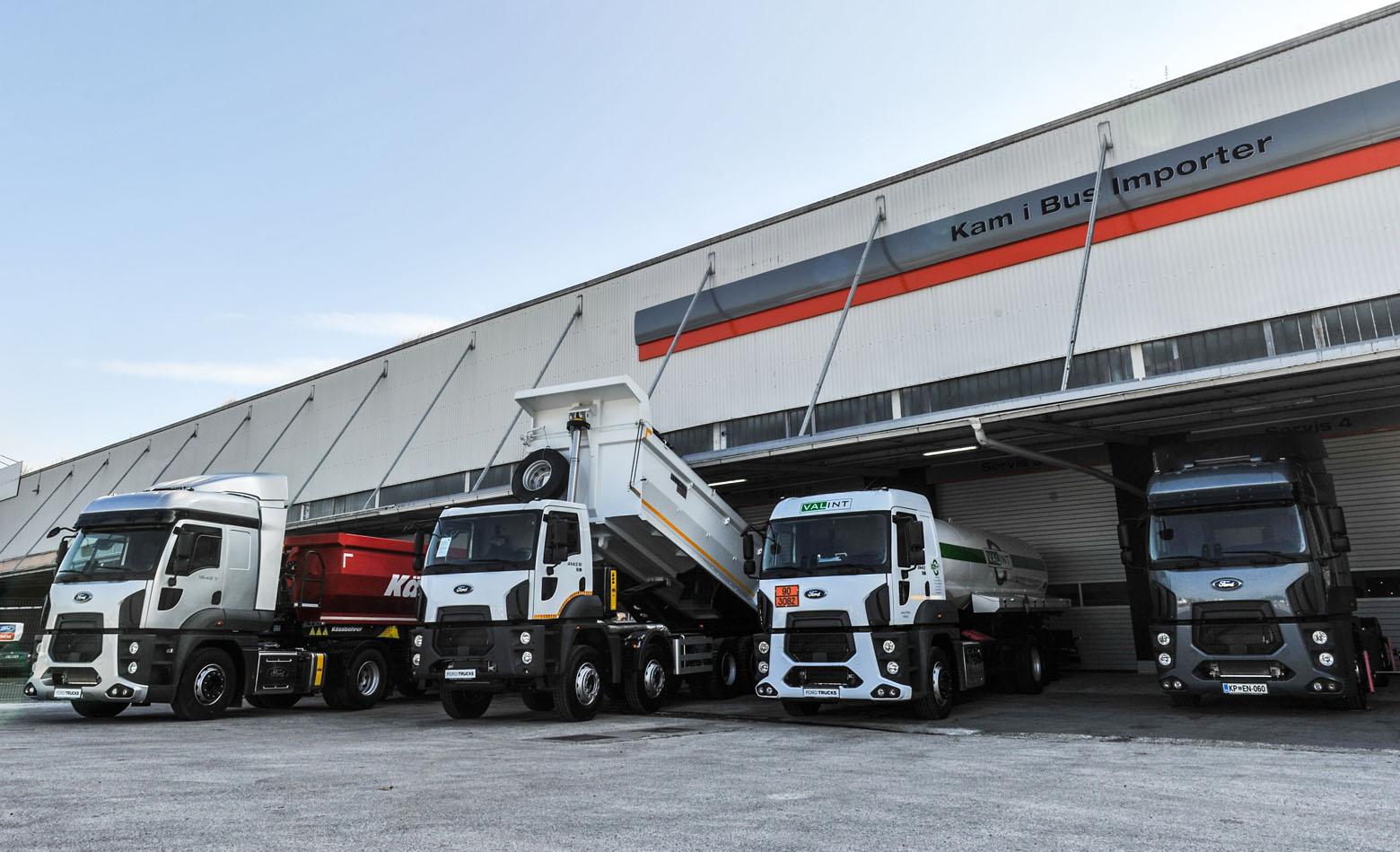 Prvi Ford Trucks centar u Sloveniji