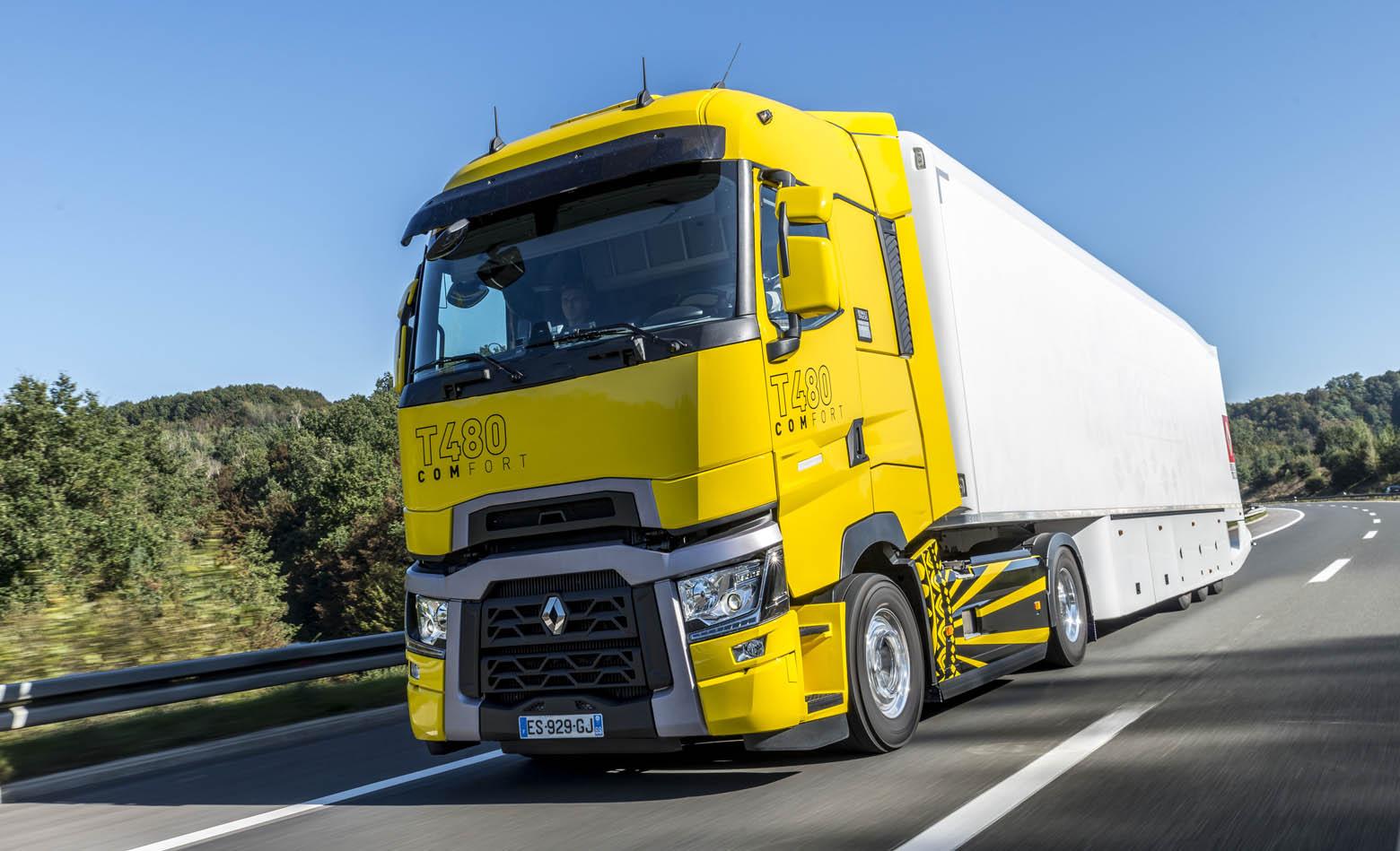 Facebook stranica Renault Trucks Hrvatska