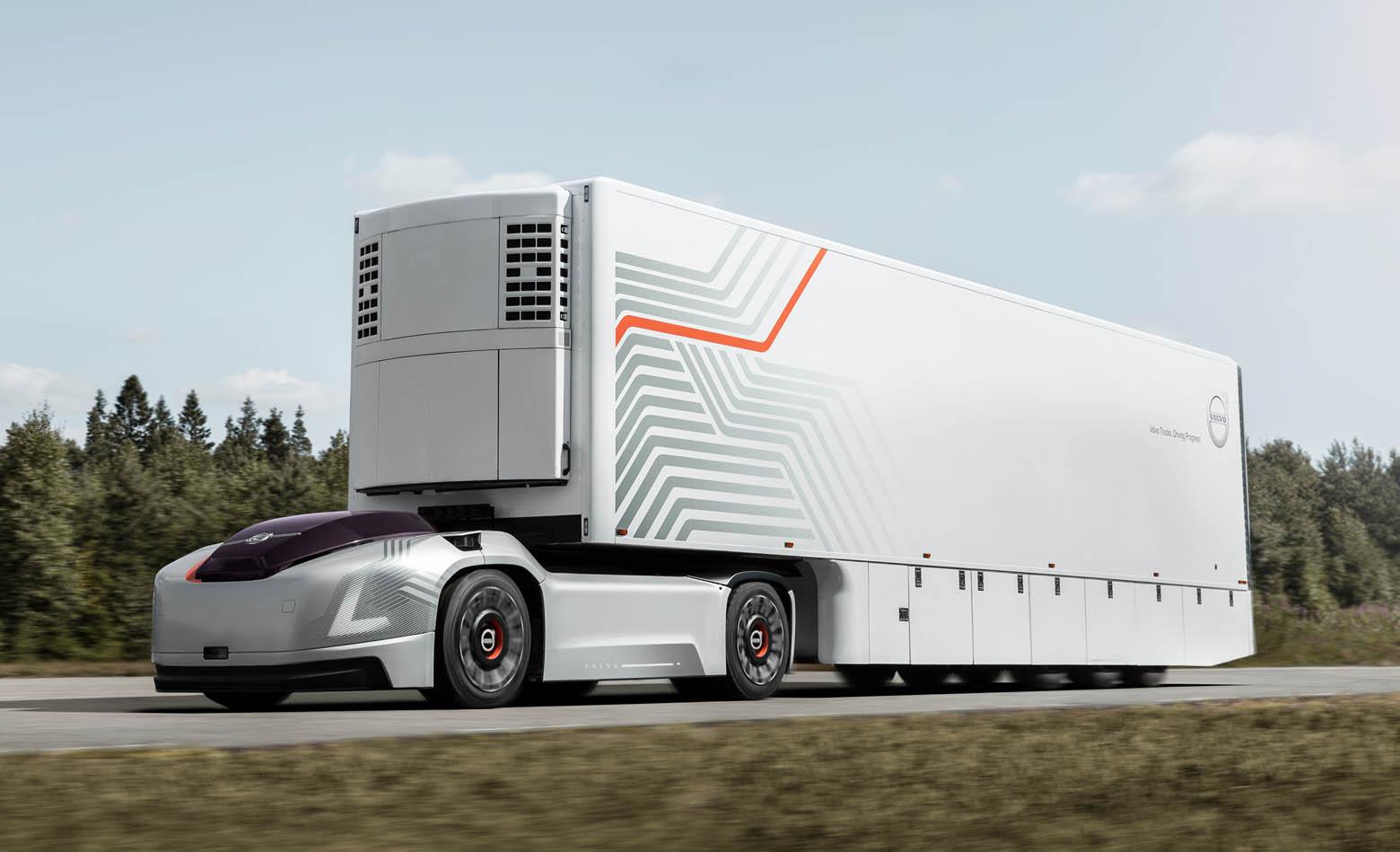 Volvo Vera je električni tegljač bez vozača