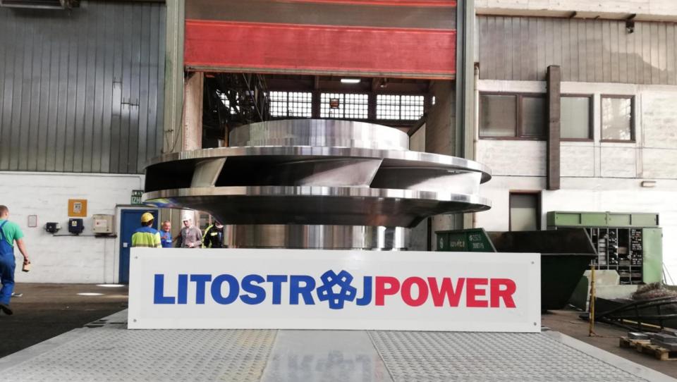 Litostroj Power: Na pot odpremili gonilnik za najmočnejšo črpalno turbino v Evropi