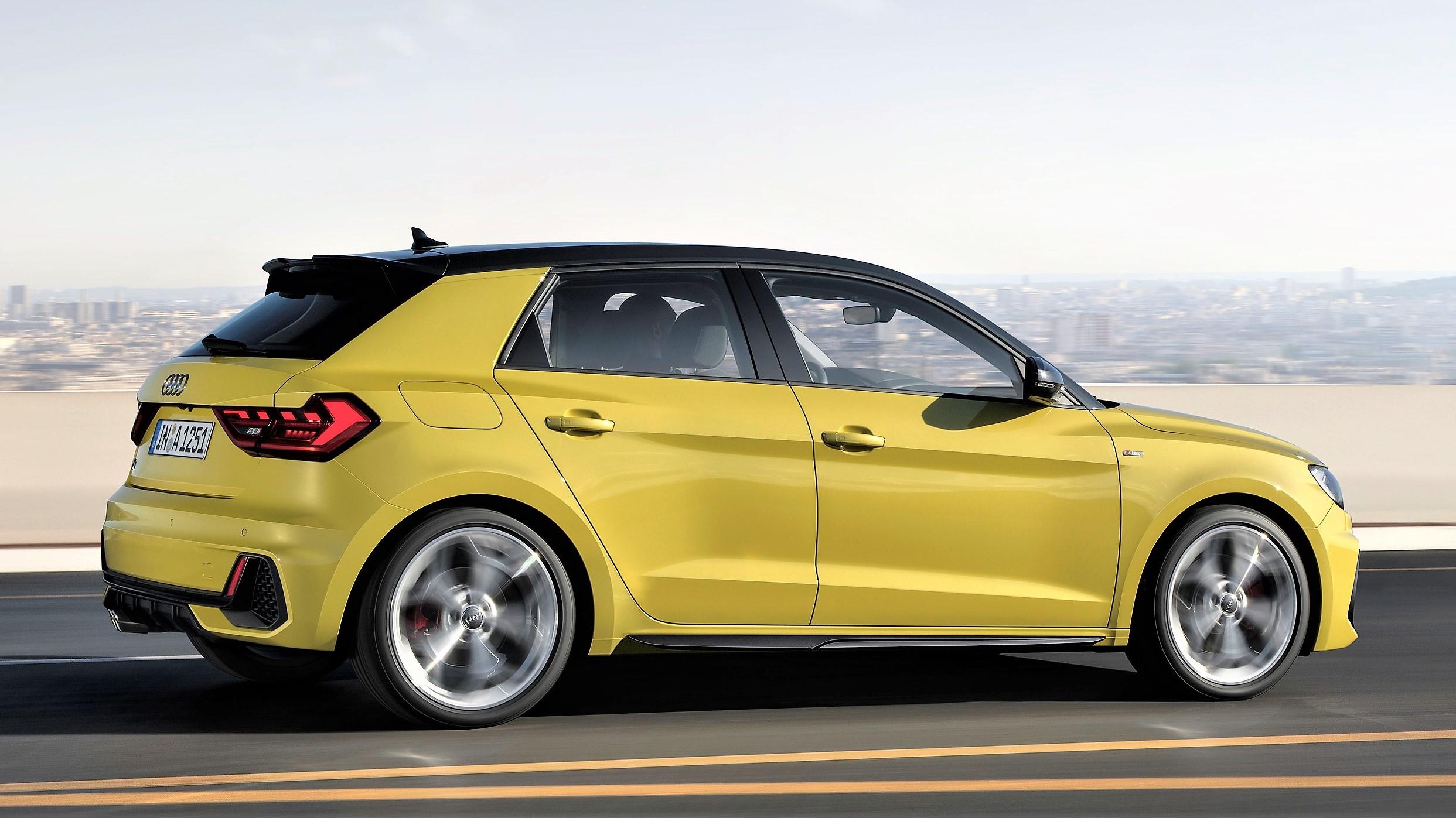 Audi dviga temperaturo z novim A1, prvič bo brez dizelskega motorja