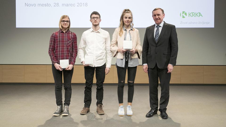 V Krki razglasili mlade talente 2017