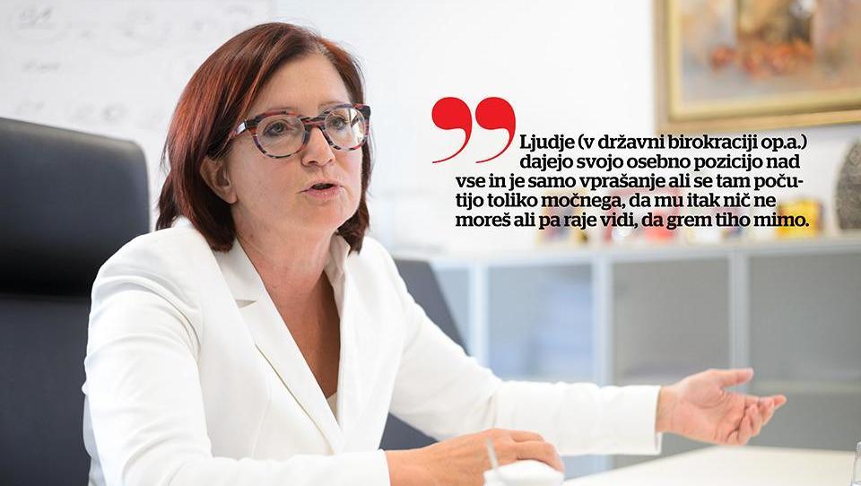 (intervju) Alenka Žnidaršič Kranjc: Če bi bila zlizana s politiko, bi se šla elektriko