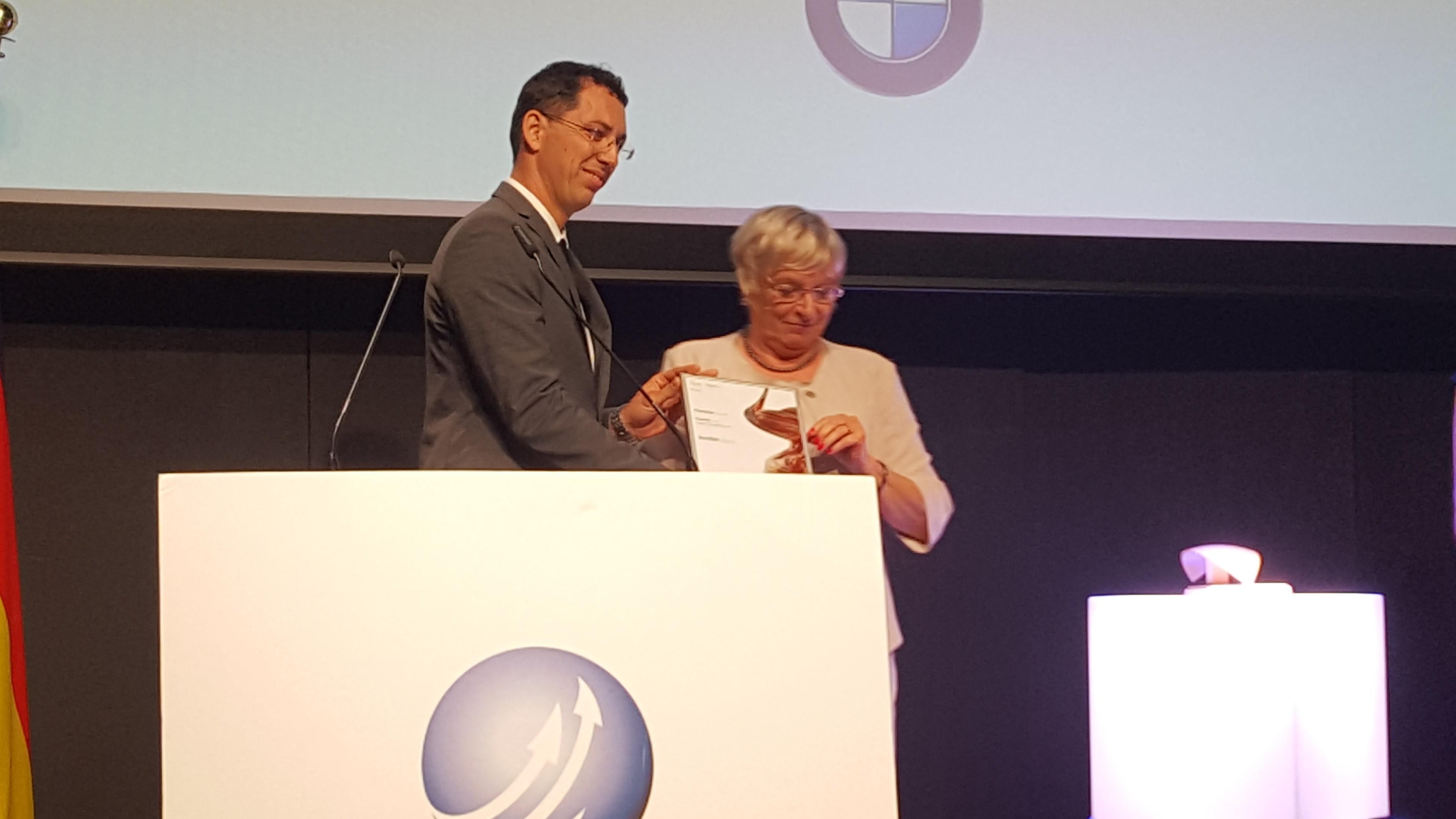 Okoljski zmagovalec Financ med finalisti na razpisu nemških nagrad