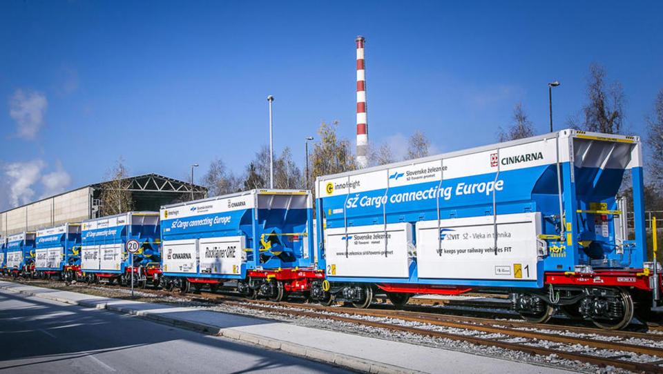 SŽ-Tovorni promet - Zanesljive in konkurenčne storitve v osrčju Evrope