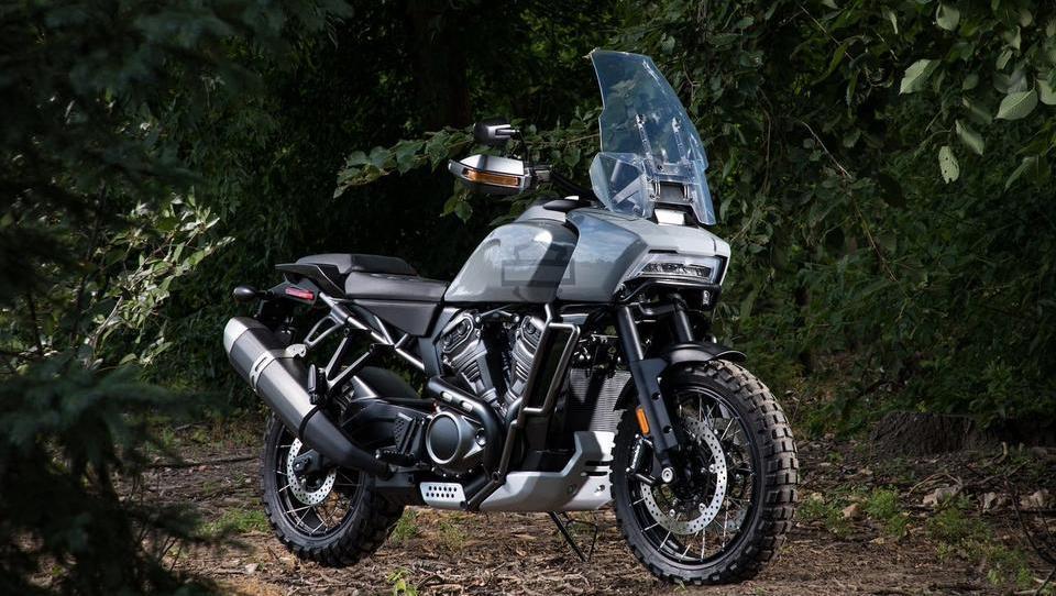 Tako si Harley Davidson predstavlja potovalni enduro motocikel
