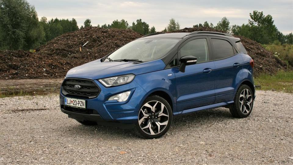 Fordov najmanjši: po stasu pravi, po značaju pa športni terenec