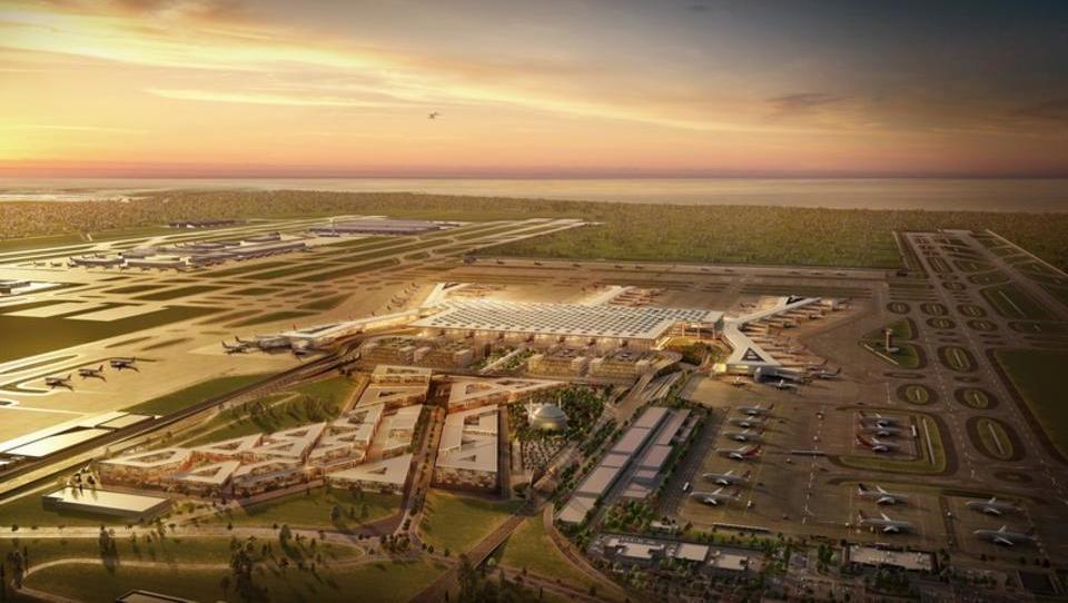Kako Erdogan gradi največje letališče na svetu, ki bo stična...