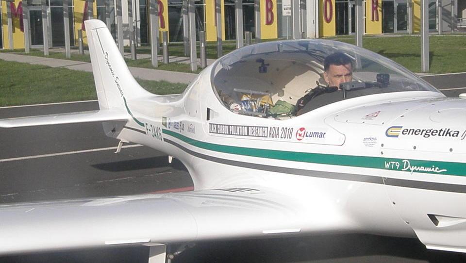 Lenarčič iz Maribora na letalsko-okoljsko pot po Aziji