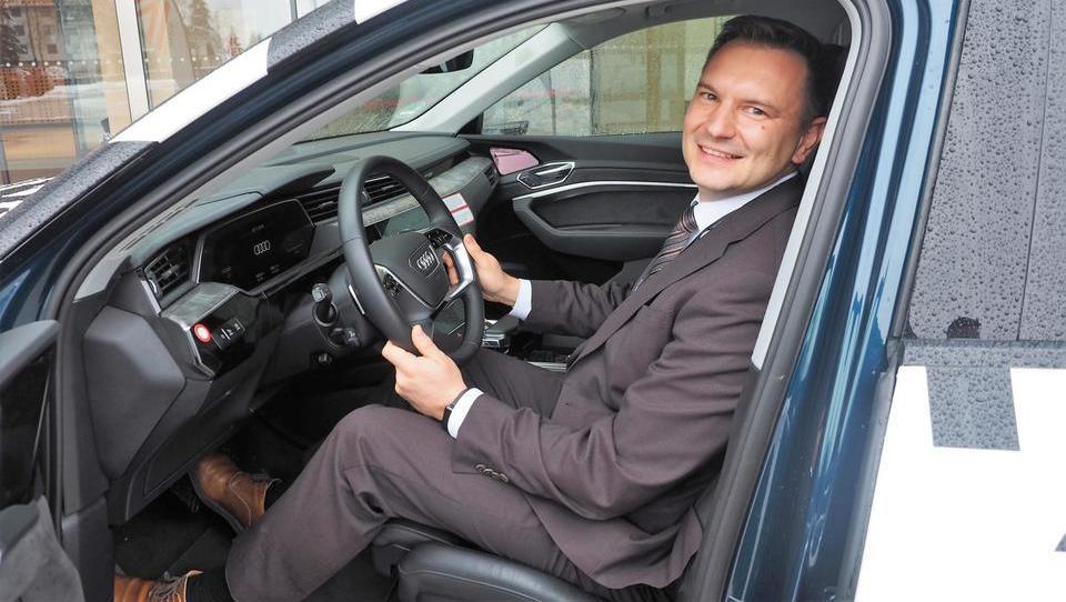 Električna avantura Slovenca v razvoju Audija, ki se bere kot kriminalka