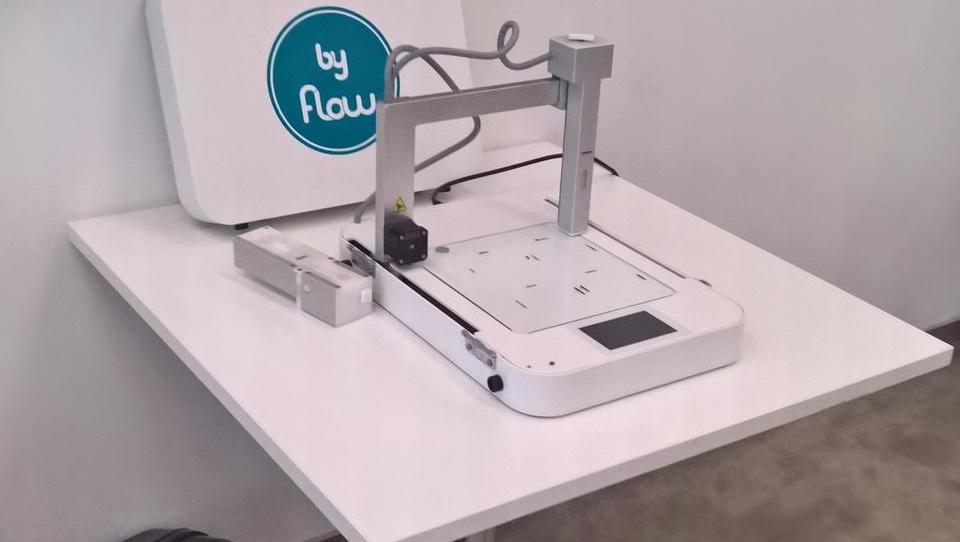 (video) V Slovenijo prihaja 3D-tiskalnik hrane nizozemskega start-upa byFlow