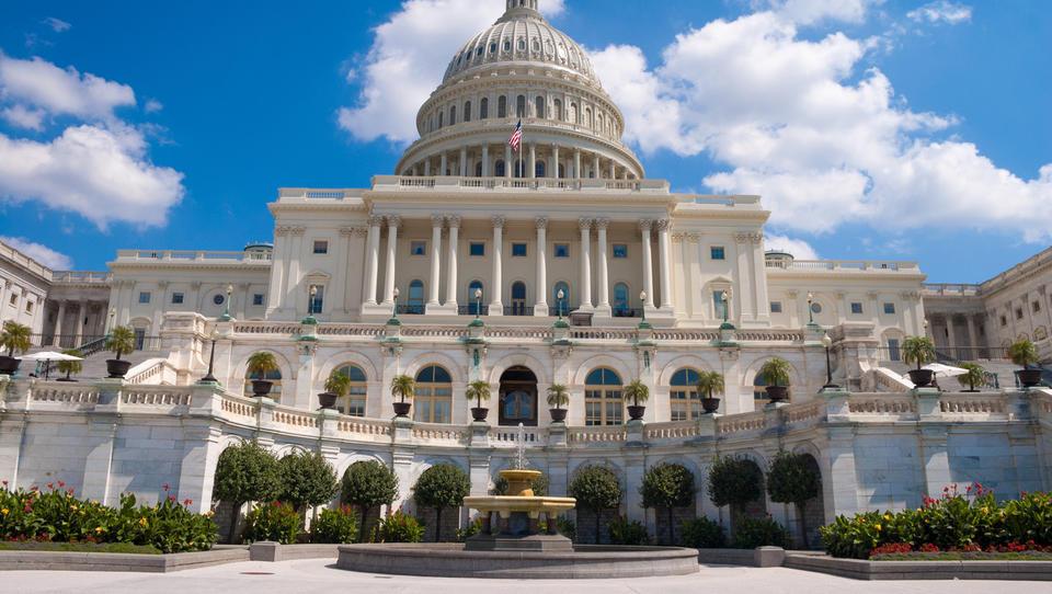 Podnebni val v predstavniškem domu ameriškega kongresa