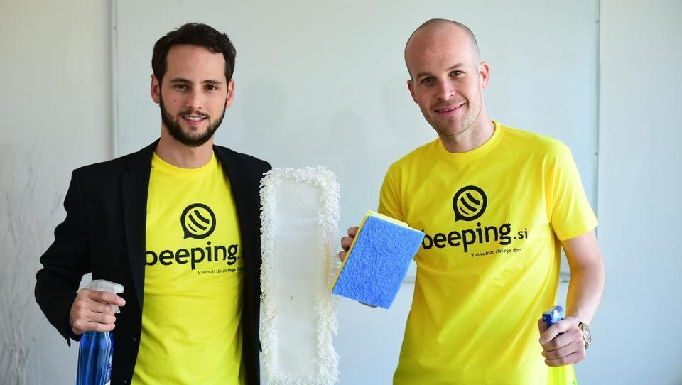Slovenski uber za čistilce bo sodeloval s Henklom