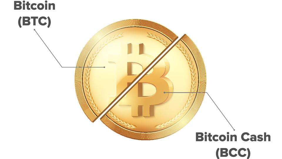 Kakšna je razlika med bitcoinom, bitcoin cashem in bitcoin goldom