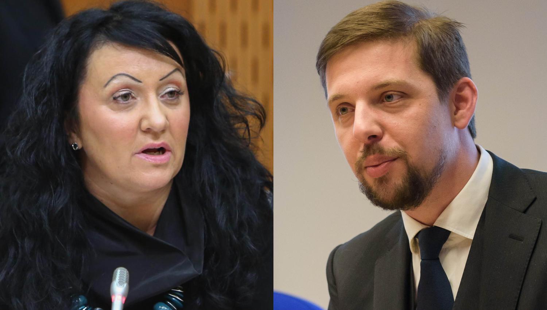 Menjave med politiko in vrhovnim sodiščem: svoja položaja zamenjala Tina Brecelj in Gregor Strojin