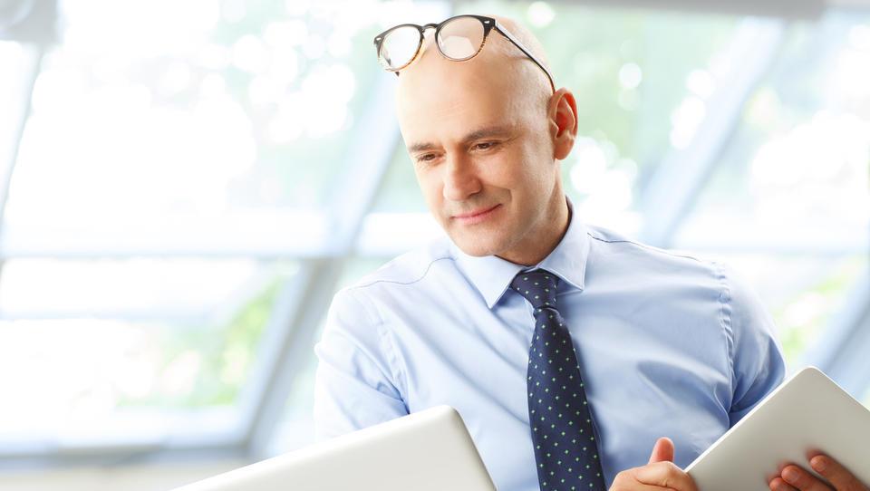 Naslednji v vrsti direktorjev je CDO, ki je odgovoren za podatke