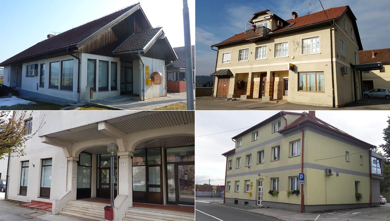 Pošta Slovenije na novo spletno dražbo pošilja za 1,8 milijona evrov nepremičnin