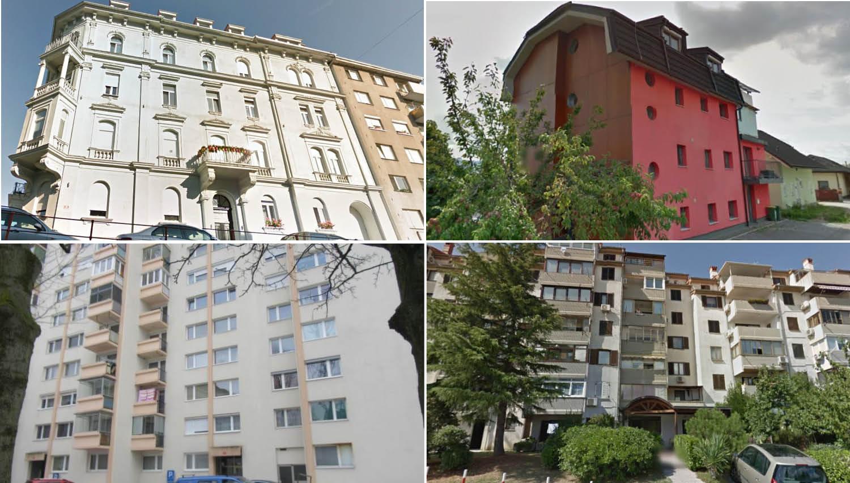 Stanovanja, ki bodo na dražbah v prihodnjih tednih