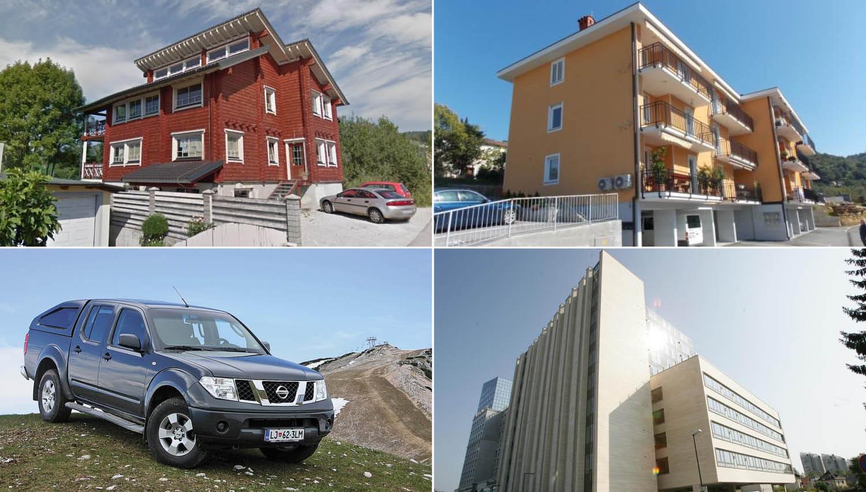 TOP dražbe: Stanovanji v Ljubljani in Portorožu, hiša na Brezovici, nissan navara, zidanica ...