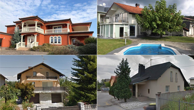 10 stanovanjskih hiš, ki jih lahko do konca meseca kupite na dražbah