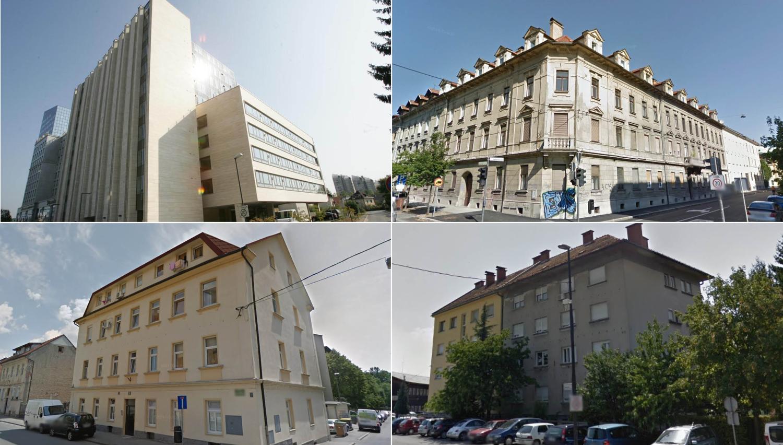 Ta stanovanja v Ljubljani boste lahko junija kupili na dražbah