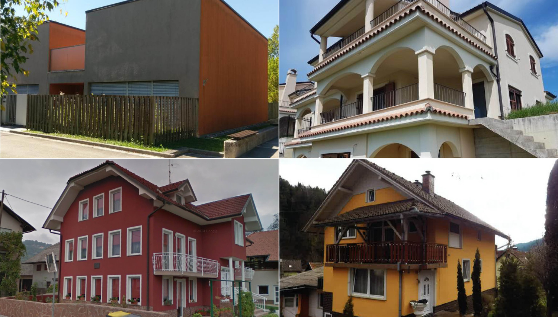 To je oktobrski pregled hiš, ki bodo na voljo na dražbah