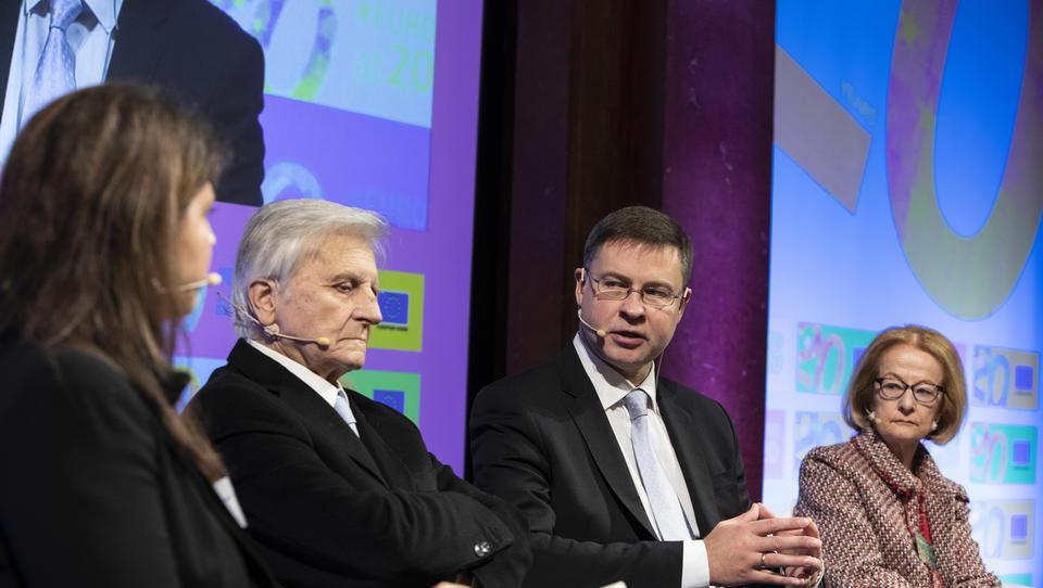 Trichet pred 20-letnico evra: Pred krizo nismo poznali slabosti evra