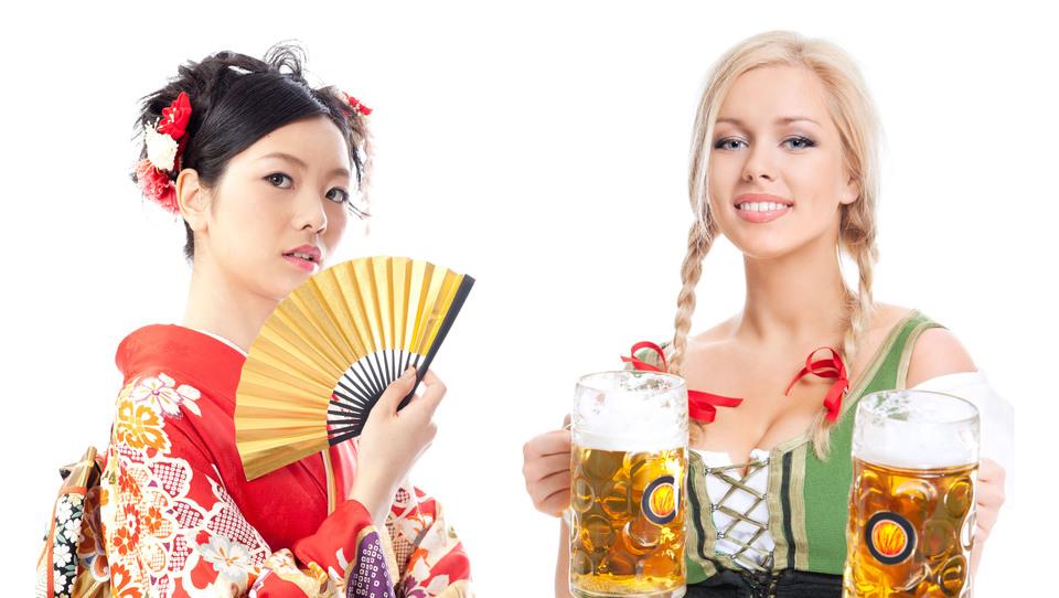 Vas bolj ganejo lepote Japonske ali Nemčije