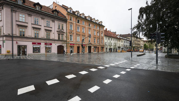 Gosposvetska: Oživel tudi trg z lokali in stanovanji