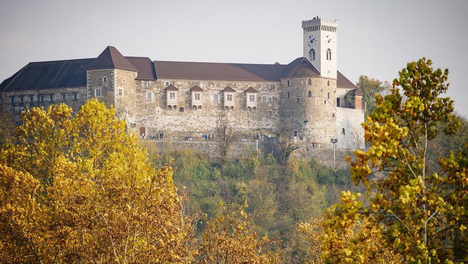 Ljubljanski grad v 2017 z rekordnim obiskom