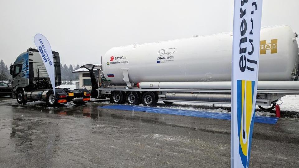 Energetika Ljubljana načrtuje dve novi polnilnici za vozila na plin