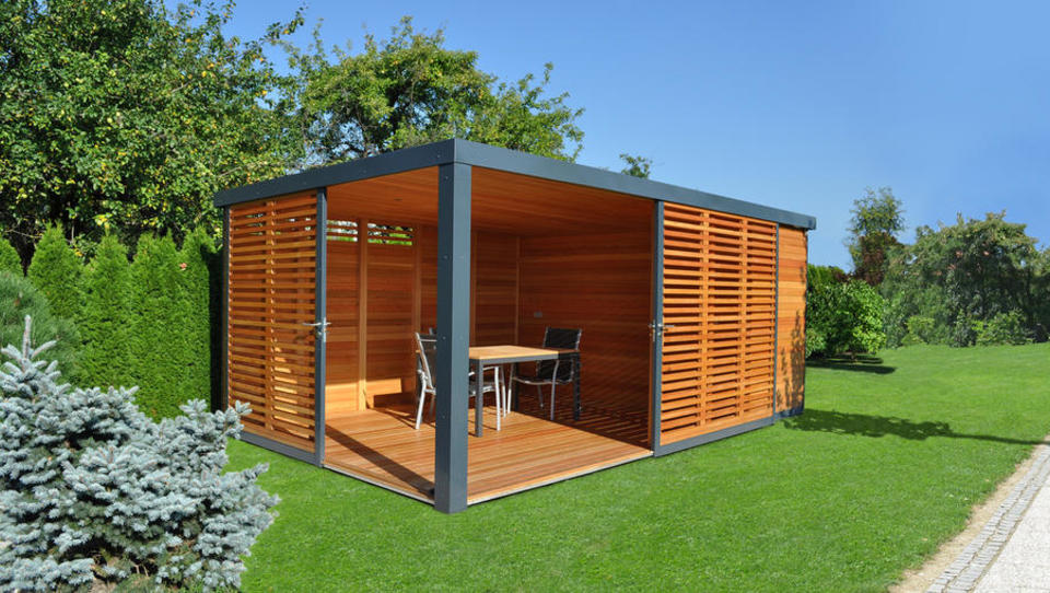Najpodjetniška ideja: Cubie, po meri izdelane vrtne hišice