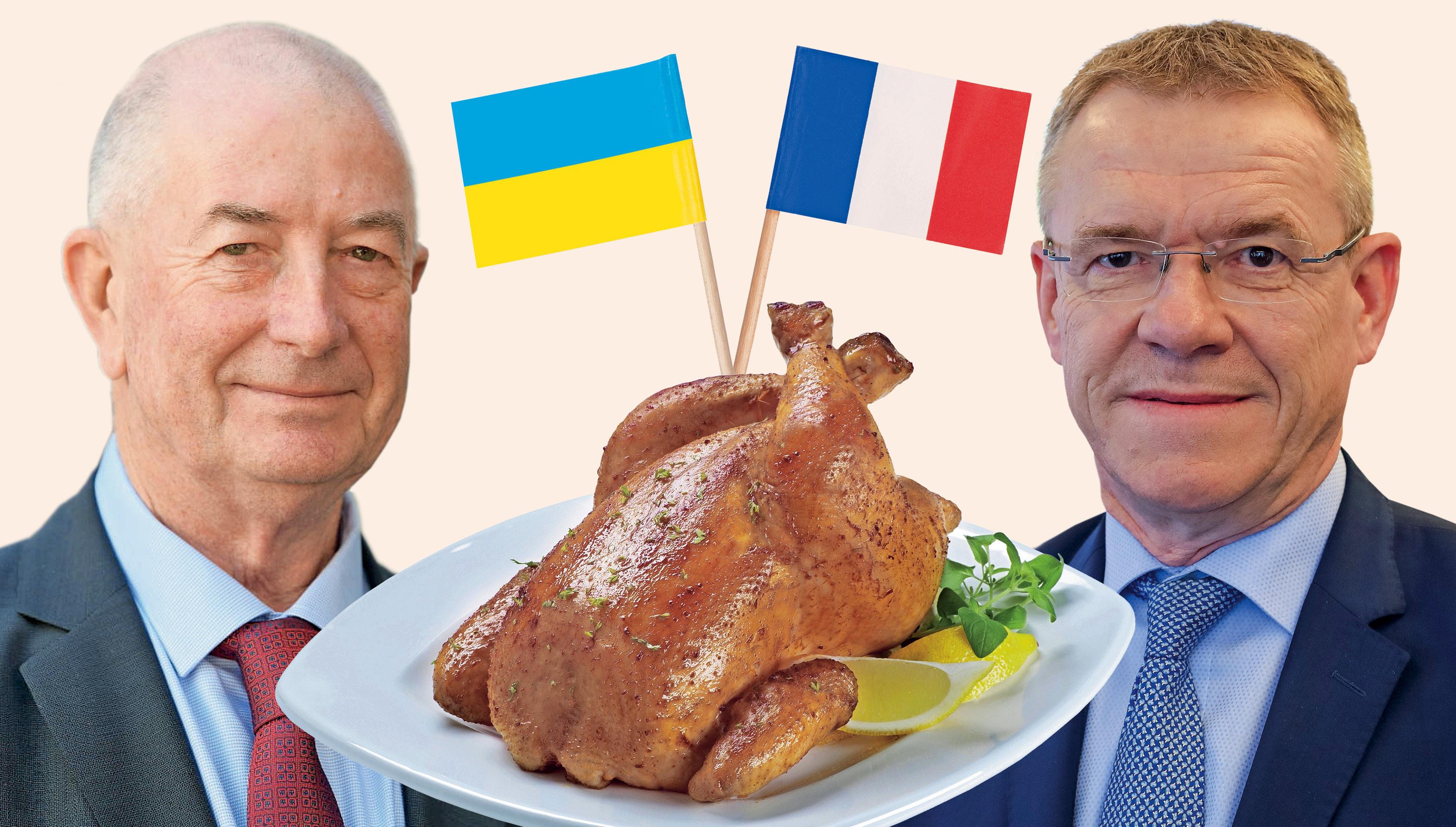 Vnel se je boj za ptujske piščance, v katerega so Francozi vpletli še Šarčevo vlado