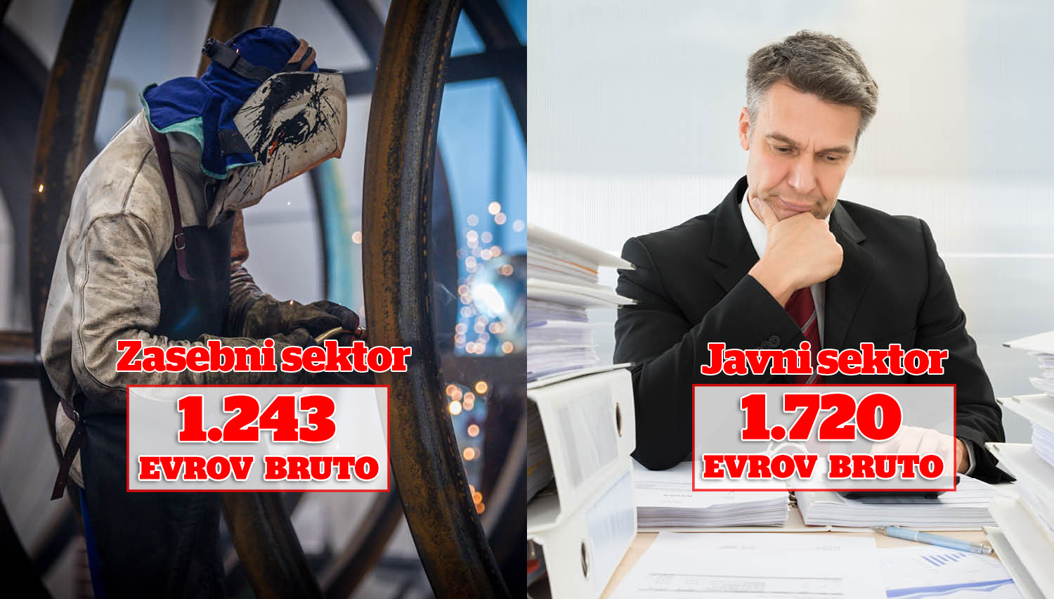 Ena Slovenija proti drugi Sloveniji – kdo bi v resnici moral stavkati