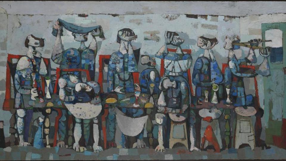 Žrebčevsko silni slikar Marij Pregelj