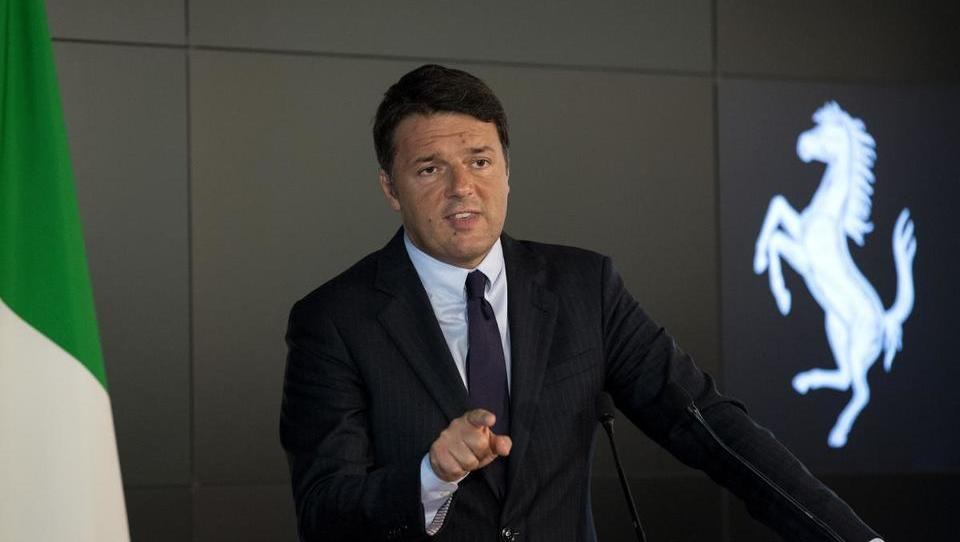 Kdo si upa: Matteo Renzi