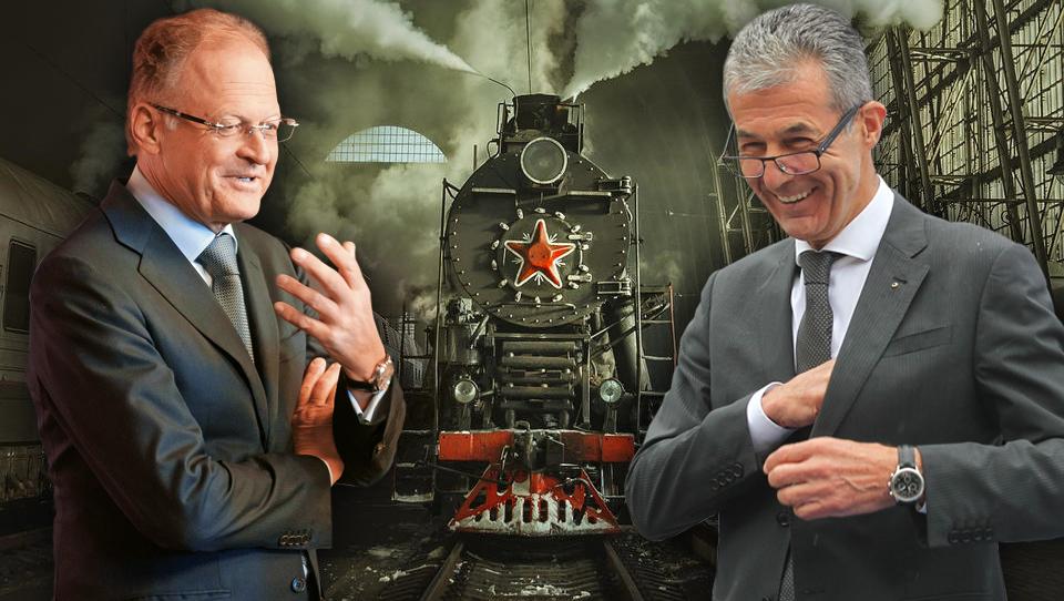 Priprave na drugi tir: kdo je ruski velikan, ki se povezuje s Petričem in Škrabcem?