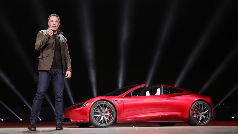 Tesla: Rekordni prihodki, rekordna izguba in nove obljube E. Muska