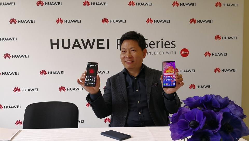 Intervju s šefom Huaweia: Tudi brez ameriškega trga smo lahko številka ena na svetu