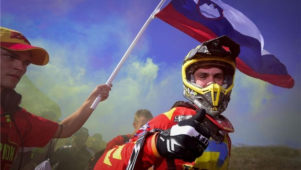 Devetnajstletni Štajerc na prestolu svetovnega motokrosa