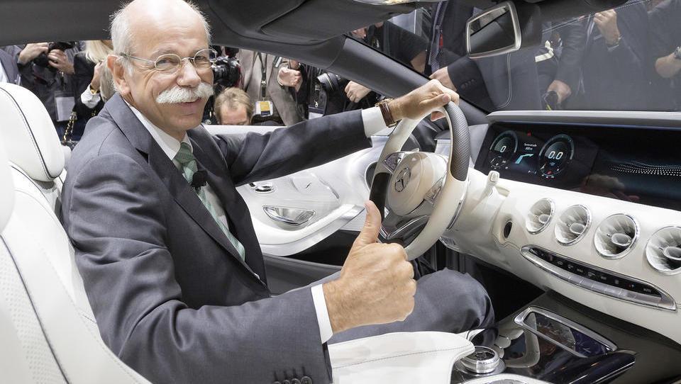 Kako šef Daimlerja delničarje miri pred strahovi kitajskega prevzema