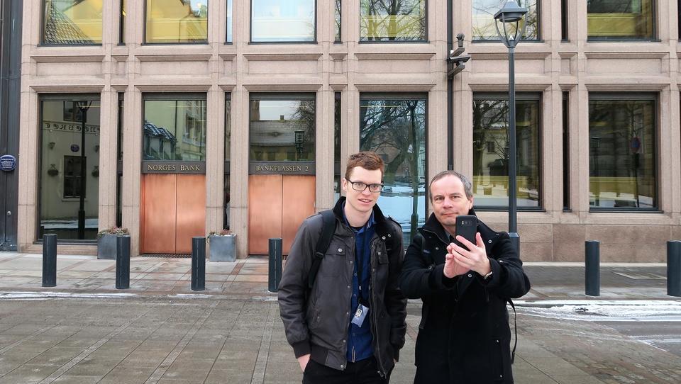 Kako je Brihteja prišla do posla v norveški centralni banki