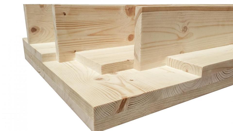 Slovenska inovacija: Podjetje CBD patentiralo lesene križno lepljene...