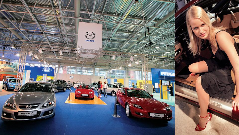 Dobri časi v Slovenijo vračajo avtomobilski salon