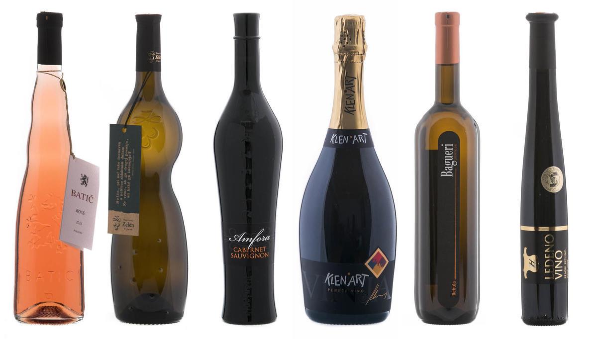 Drugačne steklenice iz Vinskega vodnika 2017